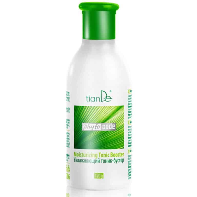 Acest tonic-booster din gama Phyto Code conține mai mult de 98% ingrediente naturale. Utilizați Phyto Code Tonic Booster imediat după curățare și veți simți pielea voastră tonifiată și elastică, hidratată, proaspătă și veți radia încrederea și starea de spirit! Frumusețea și aspectul tineresc al pielii vor fi protejate de complexul de 11 aminoacizi care asigură hidratarea naturală la nivel celular. Fiecare aminoacid este ales pentru a încetini procesul de îmbătrânire. Formula activă a tonicului-booster în combinație cu acidul hialuronic și extractul salvie calmează și restabilește pielea iritată și deteriorată. Extractul de frunze de salvie conține o mulțime de vitamine, accelerează regenerarea celulară, are un efect tonic și păstrează pielea în stare bună. Acidul hialuronic hidratează intens, formând un strat protector respirabil pe suprafața sa, blocând evaporarea umidității și împiedicând deshidratarea straturilor de piele mai adânci.este indicat pentru toate tipurile de ten, inclusiv pentru cel sensibil.
