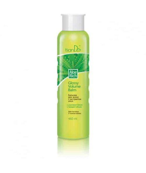 Flacon 200g Șamponul, bogat în Aloe, curăță delicat și hrănește pielea scalpului, fiind ideal pentru părul subțire.Hidratează intens firul de păr, oferind în același timp strălucire, catifelare și un volum natural uimitor. Extractul de frunze de Aloe restabilește echilibrul hidric al părului, hrănește, înmoaie și calmează scalpul, hrănește firul de păr de la rădăcini până la vârfuri. Extractul de semințe de Camelie reduce secreția glandelor sebacee, menținând părul curat pentru o perioadă lungă de timp. Extractul de frunze Mentă înmoaie pielea, ameliorează iritațiile, dă un sentiment de confort. Pirithionul de zinc are efecte antiseboreice și anti-mătreață.Utilizarea regulată a șamponului Aloe Rich va da lumină părului și o strălucire strălucitoare. Utilizare: Aplicați șamponul pe părul umed, masați, apoi clătiți.