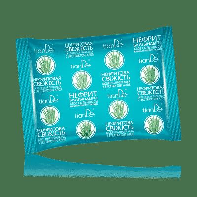"""Absorbant zilnic pe bază de plante și extract de aloe """"Nephrite Freshness"""""""