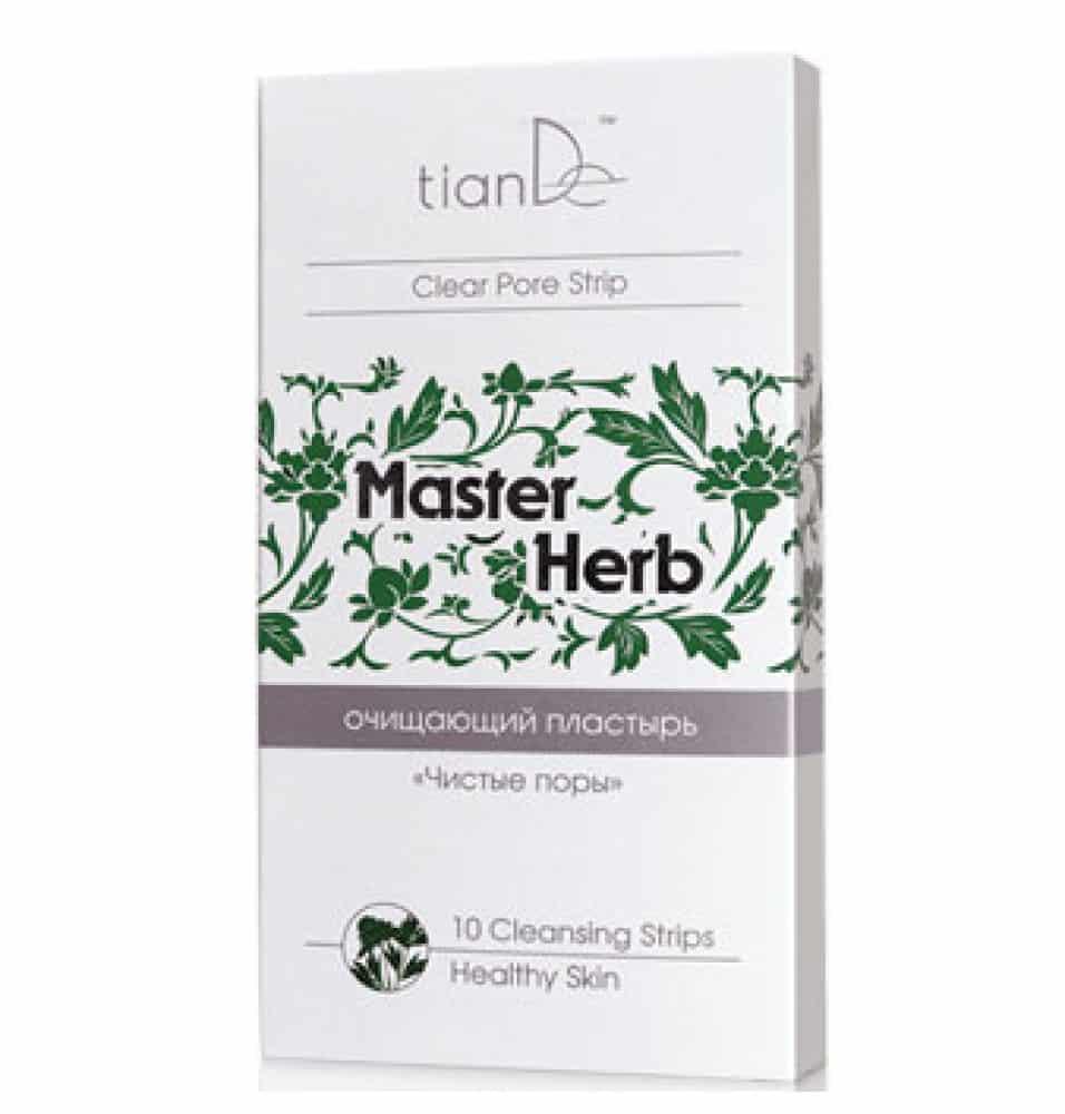 Plasturele pororeductor pentr nas Master Herb