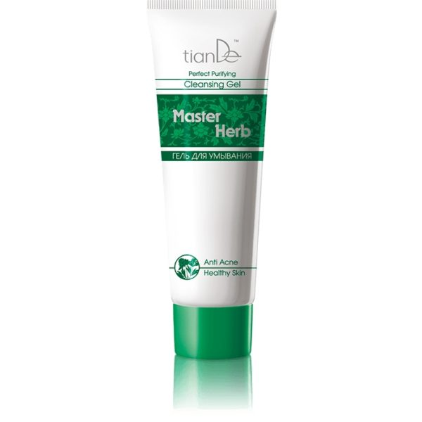 Gel de curățare anti-acnee Master Herb