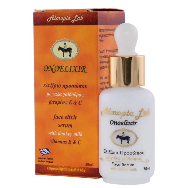 ONOELIXIR – ser facial pe bază de lapte de măgăriță